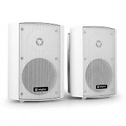 Pair Skytec 2-Way Commercial Speakers For Pubs & Bars - White