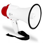 Auna Bullhorn Megaphone Sports Loudspeaker Siren - Football, Cricket, Olympics - 500 meters