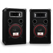 Pair Auna 8&quot; Passive PA Speakers -1000W Max