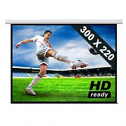 150&quot; HD Home Cinema Electric Projector Screen 4:3