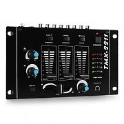 Resident DJ TMX-2211 3/2 Channel Party DJ Mixer with Talkover