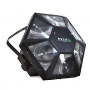 Ibiza LA-6LED DMX Music Controlled RGB Disco Light