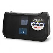 Akai ASB20I iPod Docking Station - Alarm Clock Radio AUX