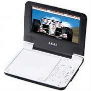 "Akai ACVDS710 Portable DVD Player with 7"" (18cm) Display 12V"