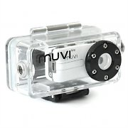 Waterproof Veho Muvi Atom Digital Helmet Camera and Case 2MP