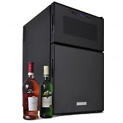 Klarstein Mini-bar Fridge with Wine Cooler - 8 bottle capacity