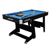 Riley Kids Folding Pool Table 152 x 84 x 79cm with 2 Cues