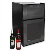 Klarstein Large Wine Cooler Fridge 24 bottles capacity - Black