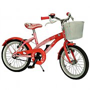 B-Stock - Hello Kitty Pink/Red Kids Bicycle - Bike with 16&quot; Wheels