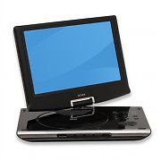 "Denver MT-1063 Portable DVD Player with 10"" LCD USB SD"