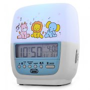 Trevi SLB-3020 Kids Alarm Clock Soothing LED Night Light
