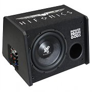 B-Stock - Hifonics 250A MKII 10&quot; Active Car Subwoofer Enclosed Speaker