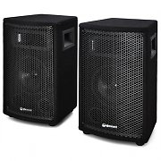 "QTX Pair 6"" Passive DJ PA Speakers 2 x100W Max Set"