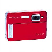 Easypix S 328 Compact Digital Camera 5MP USB SD - Red