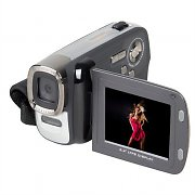 Easypix DVC5007 Camcorder Video Camera 12MP Digicam - Silver/Black