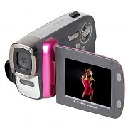 Easypix DVC5007 Camcorder Video Camera 12MP Digicam - Pink