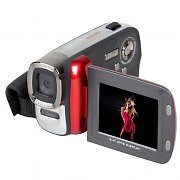 Easypix DVC5007 Camcorder Video Camera 12MP Digicam - Red