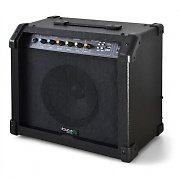 Ibiza Portable Guitar Amplifier with Integrated Battery USB