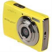 Easypix V527 Slim Yellow 12MP Compact Digital Camera