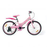 "Hello Kitty Kids Mountain Bike 6-speed Shimano 20"" Wheels"