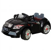 Kids Electric Car Toy Ride-On Convertible 6V 3 km/h - Black
