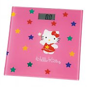 Hello Kitty Kids Bathroom Digital Scales -Glass Pink