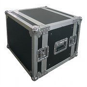 Koolcase Pro8U Flight Case - DJ and PA Equipment Rack Case