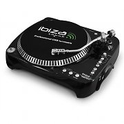 Ibiza SD USB Turntable Vinyl Record Player PC MP3 recording