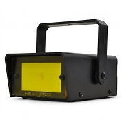 Discopro LED Strobe DJ Disco Light - Yellow Adjustable Speed