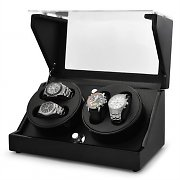 Klarstein CA2PM Watch Winder Display Case for 4 Watches