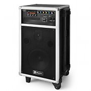 Skytec ST-100 Mobile Active PA Speaker System CD USB SD 12V