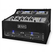 Skytec STK-300 DJ/PA System USB/SD/CD Player Mixer Rack