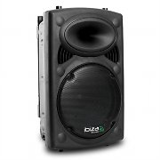 Ibiza Port12 Portable PA Speaker with Casters USB SD MP3