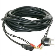 10 meter RCA/Power Signal cable for PA Equipment