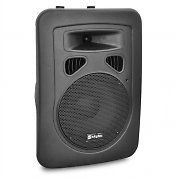 "Skytec 8"" Active DJ PA Speaker - XLR 200W with Stand Mount"