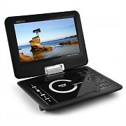 "Takara DIV109R Portable DVD Player 9"" Screen MPEG4 USB SD"