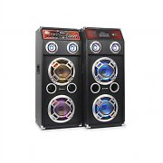 Skytec PA Sound System - Active & Passive Speakers 600W MP3