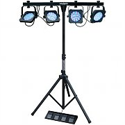 KAM Parbar MKIII 4 x LED Light Effect Rack DMX RGB Stand