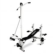 Klarfit FIT-HB2RT Multi Gym Weight Bench Training Station