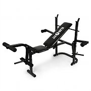 Klarfit FIT-HB3BC Multi Gym Weight Bench Arm Curl Leg Curl