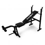 Klarfit FIT-HB4 Weight Training Bench Press Leg Curl Machine 160kg