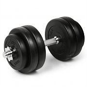 Klarfit DS1S15 1x Dumbbell with 6 Free Weight Pieces 15kg