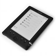 "Denver EBO-600E Portable eBook Reader 6"" e-ink Display 4GB"