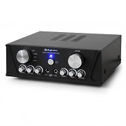 Skytronic Compact Stereo PA Hifi Amplifier - 400W Max