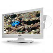 "Akai ALED 1605TBK 15"" LCD TV & DVD Player - LED 12V HDMI USB"
