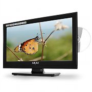 "Akai ALED 1905T 19"" LCD TV & DVD Player - LED HDMI USB"