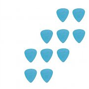10 Soft Nylon Guitar Picks with 0.6 mm thickness