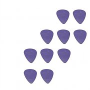 10 Extra Hard Nylon Guitar Picks - 1mm thickness - Purple