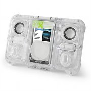 ez'ech musicshowcase2 Portable Water Resistant iPod Docking Station