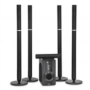 Auna YC-5.1 Cinema-B Home Cinema Surround Sound Tower Speakers 100W RMS